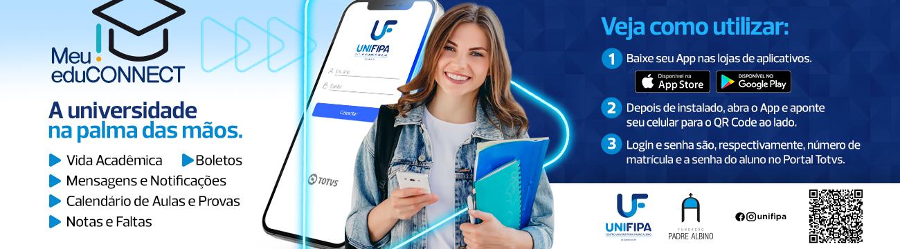 A Unifipa na palma das mos. Baixe agora o aplicativo EduConnect