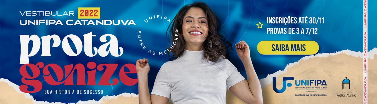 Vestibular Unificado 2022 - Unifipa