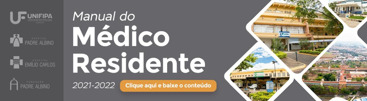 Manual do Mdico Residente - 2021/2022